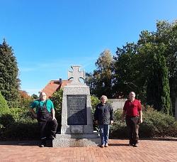 Arbeitseinsatz Kriegerdenkmal