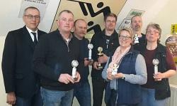 Pokalschießen für örtliche Vereine in Wiedensahl 2018