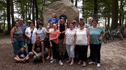 Radtour Findlingswald Wiedensahl